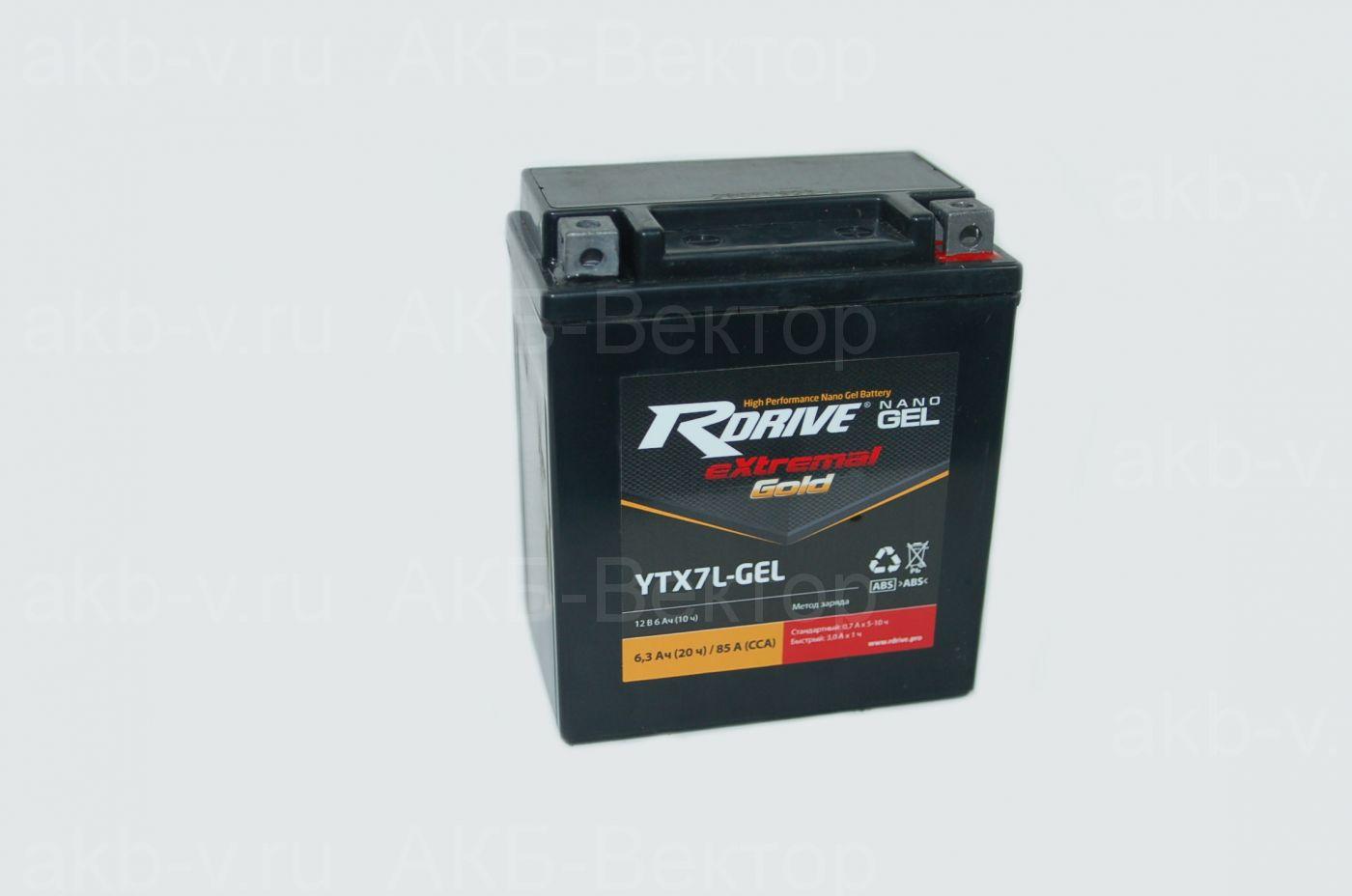 rDrive eXtremal Gold AGM YTX9-GEL (8Ач)
