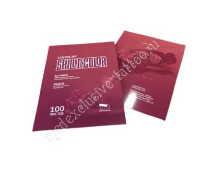 Трансферная бумага Skillin Color Transfer Paper (для принтеров Canon / HP)