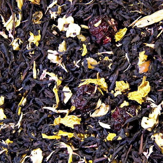 Букет Согдианы  - черный чай с натуральными добавками
