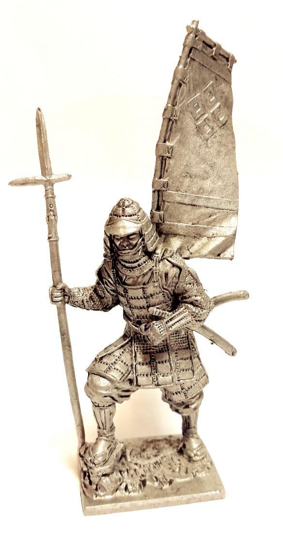 Фигурка Самурай асигару Япония 1600 г. олово