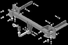 Фаркоп (тсу) Motodor, тяга 1.9т