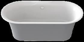 Ванна BAS Good Door Венеция 170х80 серый