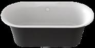 Ванна BAS Good Door Венеция 170х80 чёрный