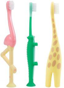 Dr.Brown`s Зубная щетка для малыша от 1 до 4х лет (арт. HG058/HG059/HG060)