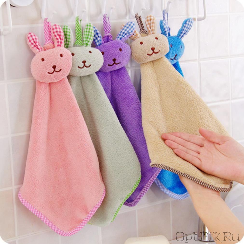 Детское полотенце для рук Кролик