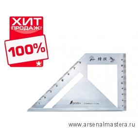 Шаблон угловой Shinwa 163 х 15 х 5 мм Sh 62081 М00003451 ХИТ!