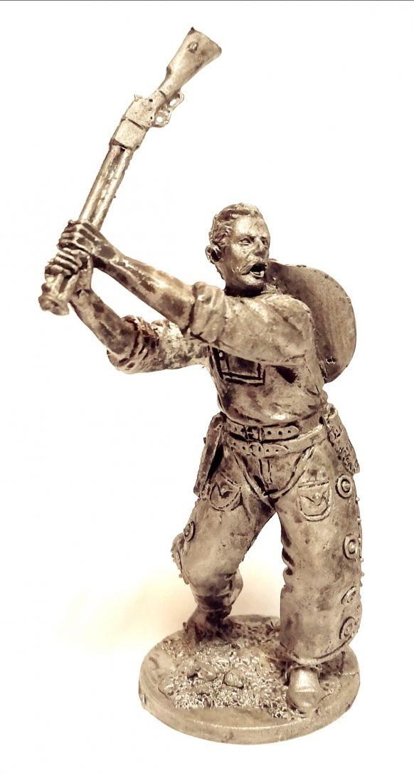 Фигурка Ковбой с ружьем олово