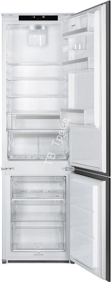 Встраиваемый холодильник Smeg C8194N3E