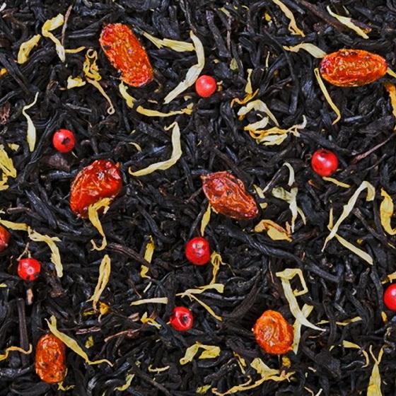 Миледи - черный чай с натуральными добавками