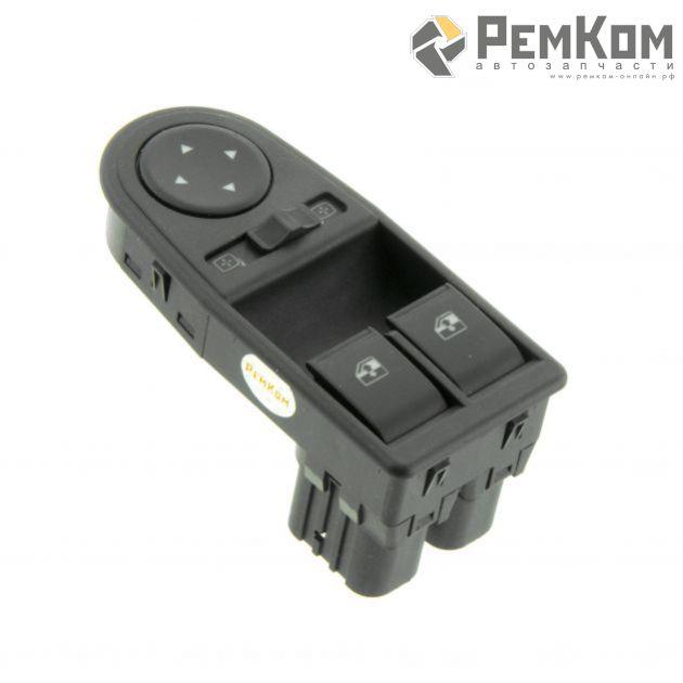 RK06022 * 2195-3709810 * Блок выключателей электростеклоподъемников и управления наружными зеркалами для а/м 2121 URB, Duts 2195, 2197