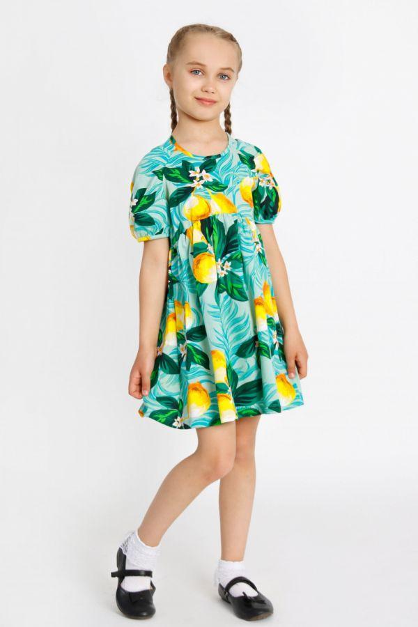 Платье Милолика детское [зеленый]