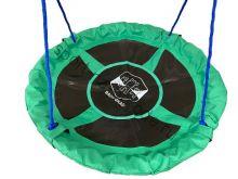 Качели-гнездо BABY-GRAD Круглые Оксфорд 100 см зеленый