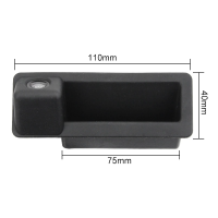 Камера заднего вида BMW X1 в ручку багажника