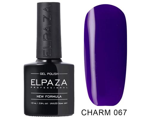 ELPAZA ГЕЛЬ-ЛАК  Charm 067  Ледяной цветок (Фиолетовый)  10 мл
