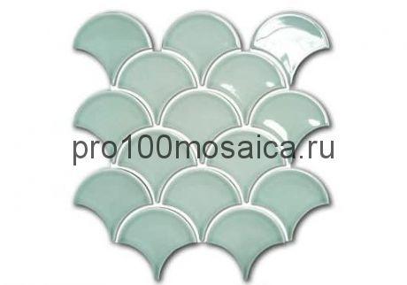 MINT SCALES Мозаика чешуйки  серия RUSTIC, размер, мм: 259*279*6 (ORRO Mosaic)