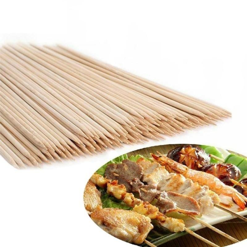 Бамбуковые шпажки-шампуры 25 см, 100 шт