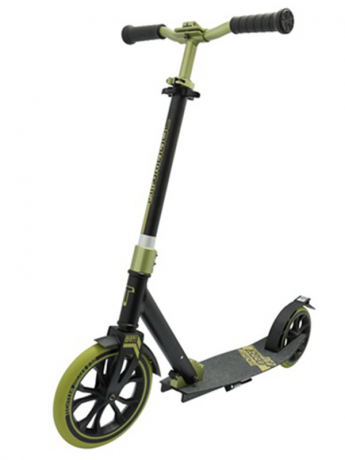 Самокат ТТ 230 jogger черно-зеленый 2021