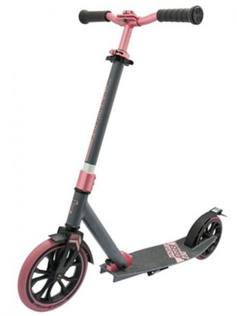 Самокат ТТ 230 jogger серо-розовый 2021