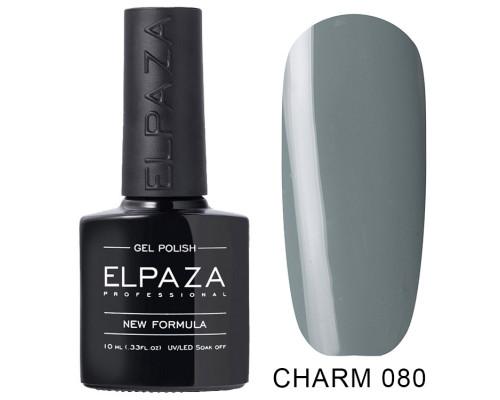 ELPAZA ГЕЛЬ-ЛАК  Charm 080  Муссон (Болотно-серый)  10 мл