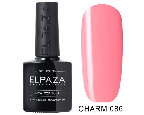 ELPAZA ГЕЛЬ-ЛАК  Charm 086  Мишель (Нежно-розовый) 10 мл