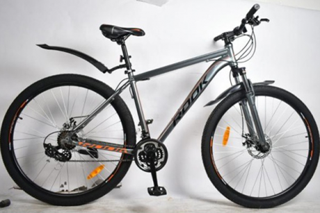 """Велосипед 29"""" Rook MA291D серый/оранжевый"""