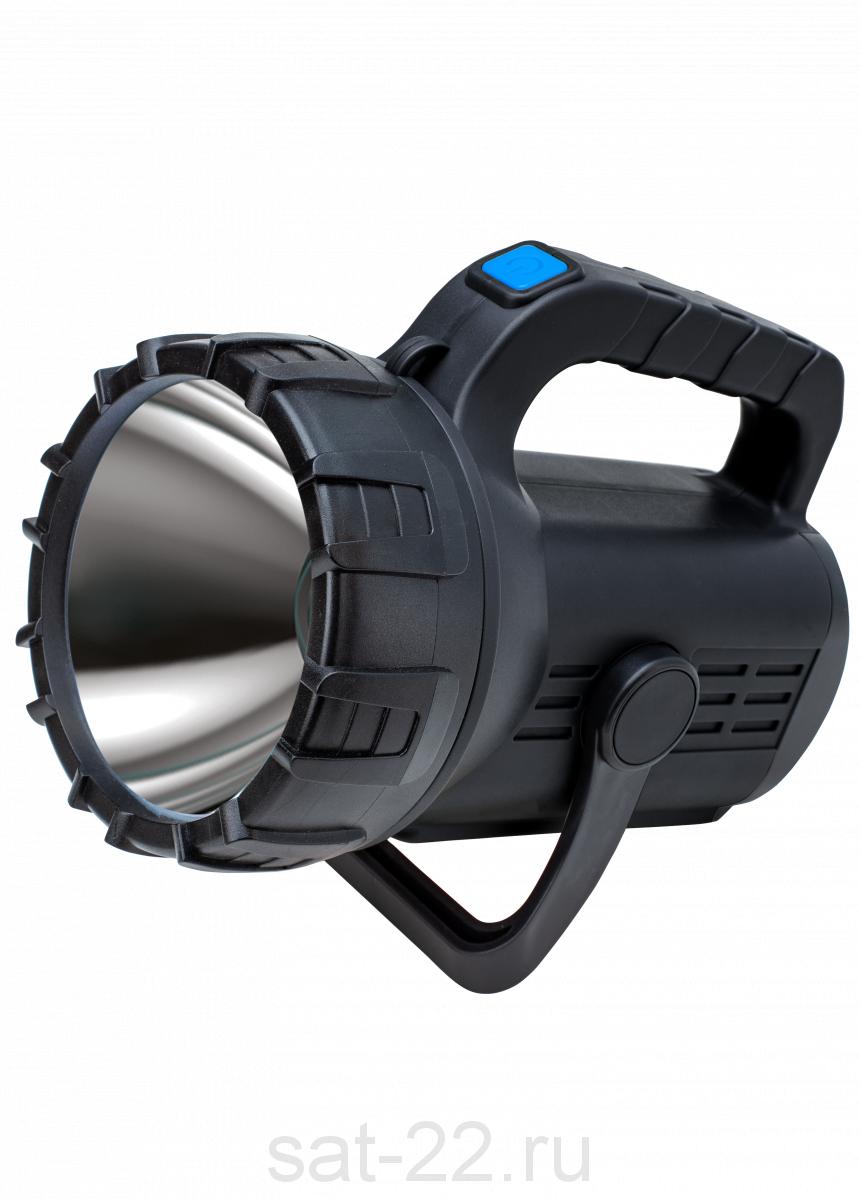 Фонарь КОСМОС Premium, 5W прожектор + 5W COB, Li 3600mAh, USB, с индикатором