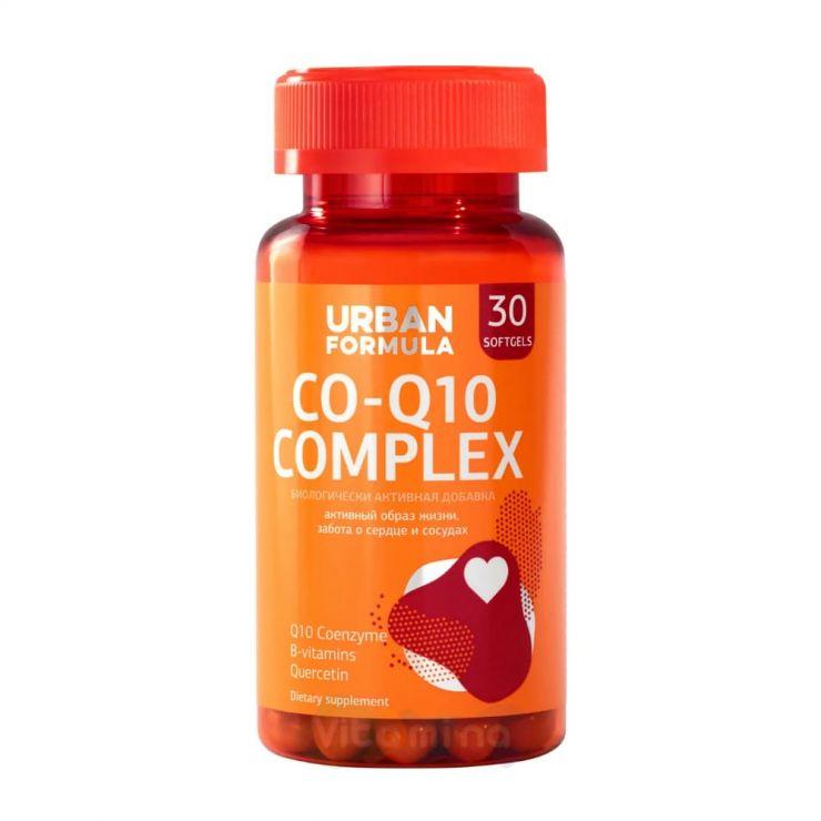 Урбан Формула Комплекс для сосудов и сердца с Q10 Control time Q10, 30 капс.