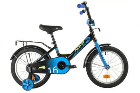 Велосипед NOVATRACK 14, FOREST, чёрный