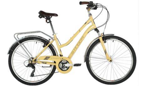 """Велосипед STINGER 26"""" VICTORIA бежевый"""