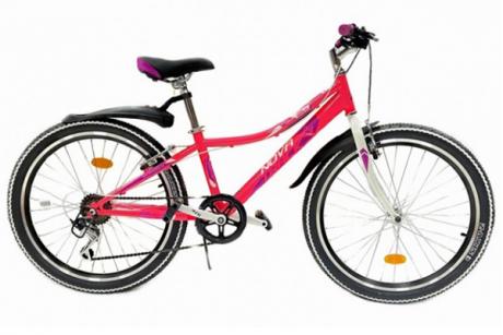 """Велосипед NOVATRACK 24"""" ALICE розовый"""