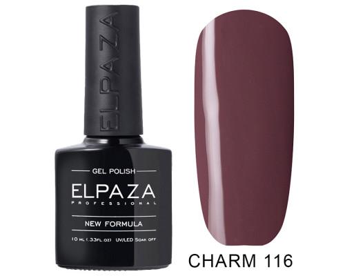 ELPAZA ГЕЛЬ-ЛАК  Charm 116  Клеопатра (Сиренево-коричневый)  10 мл