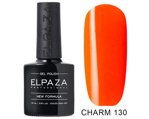 ELPAZA ГЕЛЬ-ЛАК  Charm 130 Нарцисс (Оранжевый) 10  мл