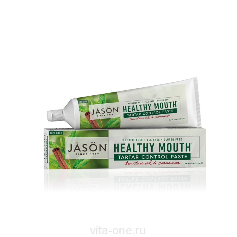 Зубная паста Чайное дерево (Healthy Mouth Toothpaste) Jason (Джейсон) 119 г