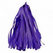 Гирлянда Тассел, фиолетовый, 3м, 12 листов