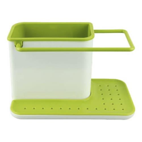 Органайзер для кухонных принадлежностей 3 в 1, цвет – зелёный.