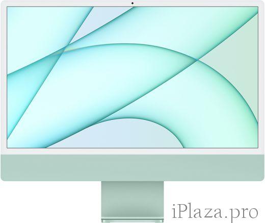 "Apple iMac 24"" Retina 4,5K, M1 (8C CPU, 8C GPU), 8 ГБ, 256 ГБ SSD, зеленый, MGPH3RU/A"