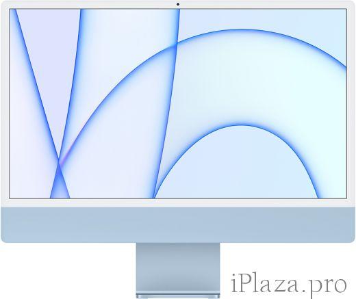 """Apple iMac 24"""" Retina 4,5K, M1 (8C CPU, 7C GPU), 8 ГБ, 256 ГБ SSD, синий, MJV93RU/A"""