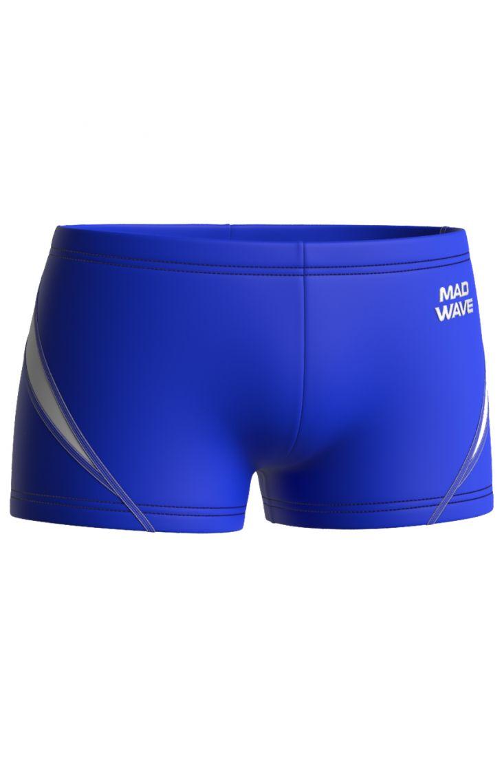 Плавки-шорты юниорские антихлор Mad Wave OLYMP Junior синие