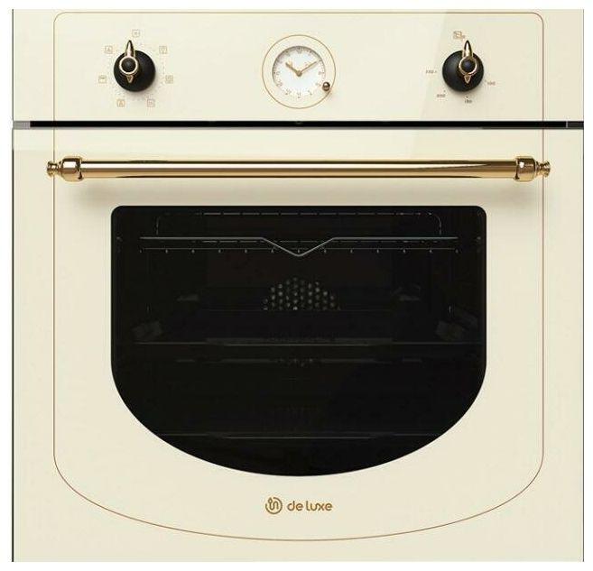 Духовой шкаф De luxe 6006.05 эшв -060 (514000) Топлёное молоко