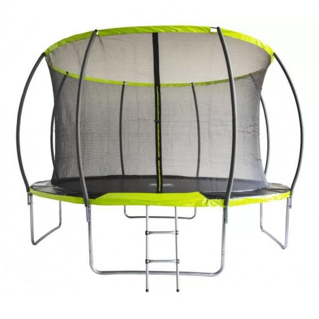Батут Fitness Trampoline GREEN 8 FT Extreme Inside
