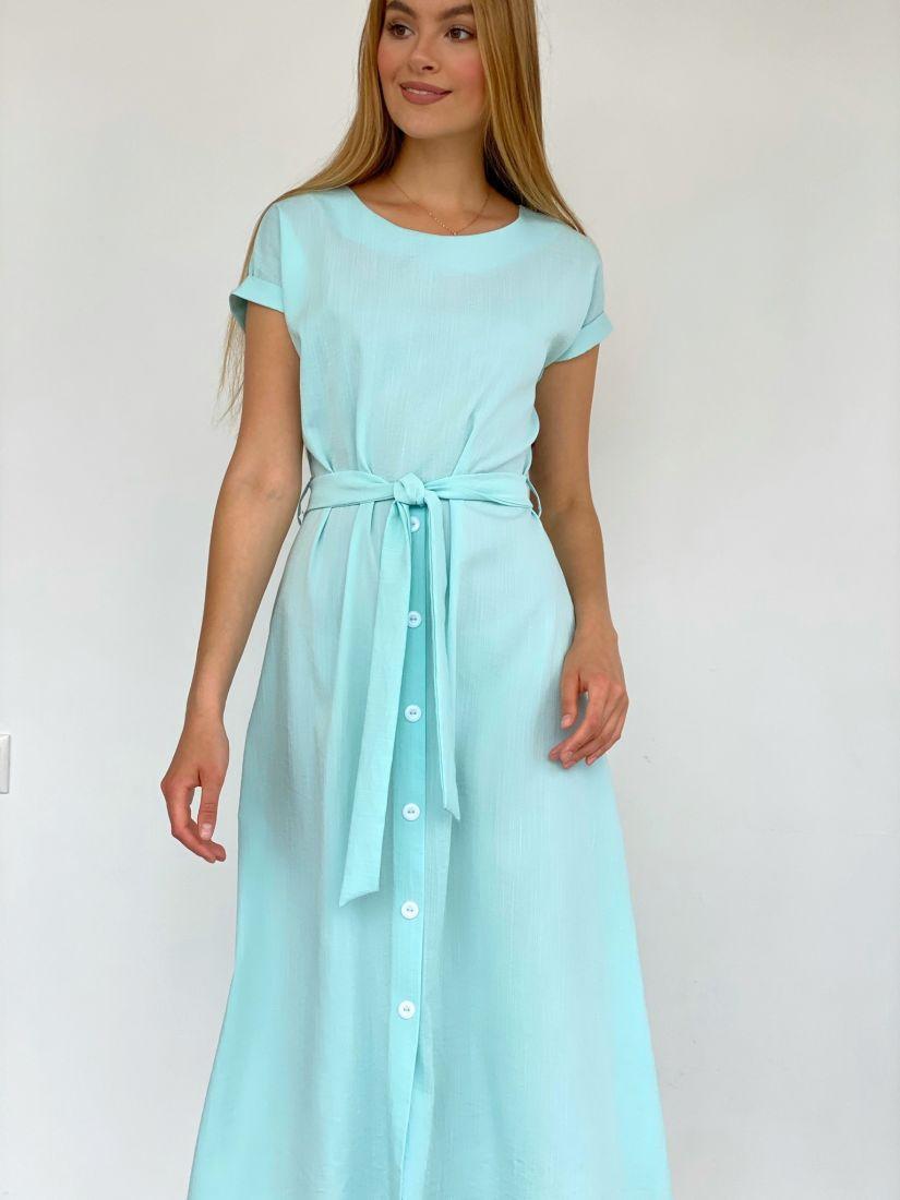4218 Платье в цвете Tiffany