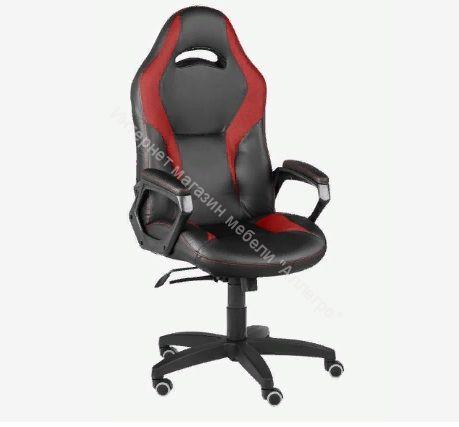 Игровое кресло Конкорд lux (чёрный/красный)