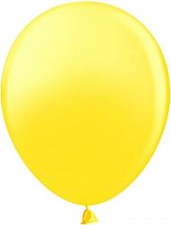 Шар (12''/30 см) жёлтый, пастель, 100 шт.
