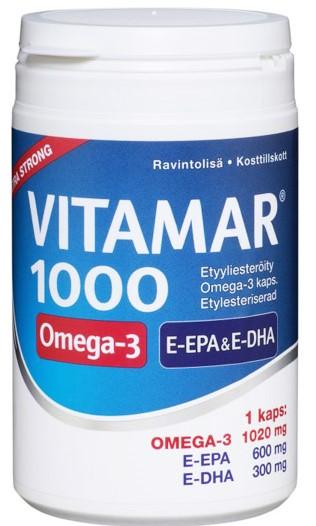 Витамины Vitamar 1000 Omega-3 100кап