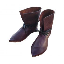 Ботинки Средневековые с острым мысом