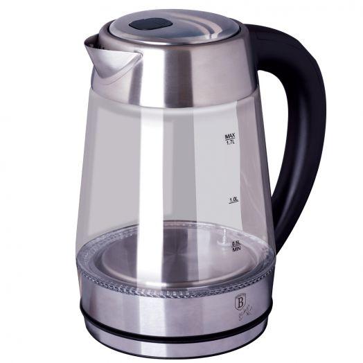 BH-9127 Black Silver Collection Чайник электрический, 1,7л
