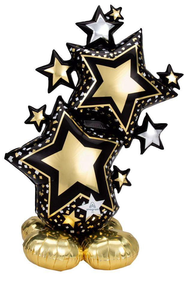 Airloonz Gold Stars (149см)
