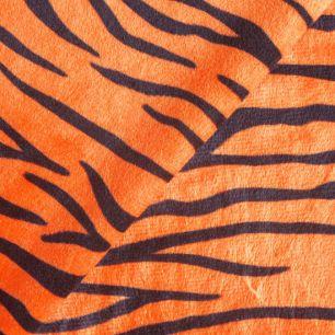 Мелковорсовый мех Тигр 50*37 см.