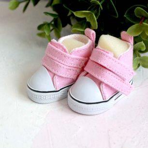 Обувь для кукол ЛЮКС - кеды 5 см (розовый)