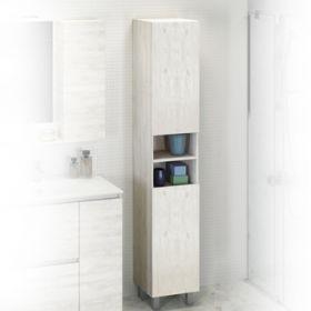 Шкаф-колонна Comforty  Верона-35-Н дуб белый